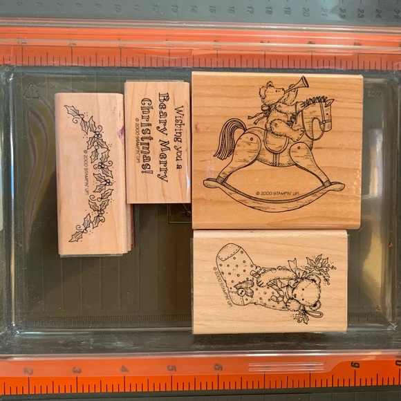 Stampin' Up! BEARY MERRY CHRISTMAS